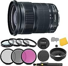Canon EF 24-105mm f/3.5-5.6 is STM Lens + 3 Piece Filter Set + 4 Piece Close Up Macro Filters + Lens Cleaning Pen + Pro Accessory Bundle - 24-105mm STM: Stepper Motor Lens - International Version