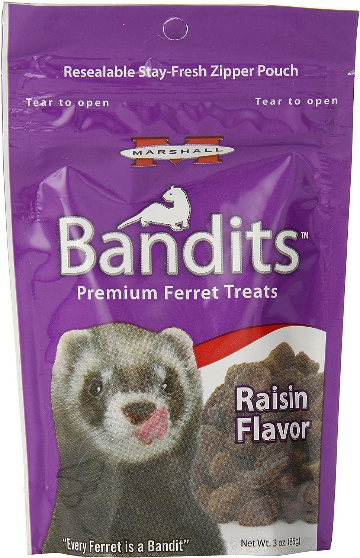 High quality Marshall Bandits Ferret Treat Small Credence 3-Ounce Raisin Raisins