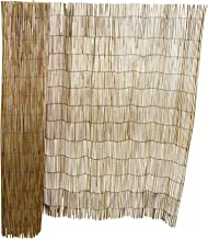 Master Garden Products RF-4 Natural Reed Fence, 4'H x 14'L,