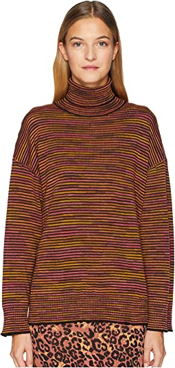 Chunky Spacedye Turtleneck