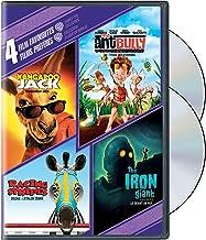 4 Film Favourites - Family Fun Collection Kangaroo Jack / Racing Stripes / Ant Bully / Iron Giant