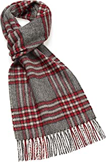 irish wool plaid scarf
