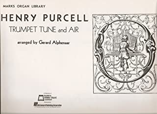 Organ Sheet Music - Trumpet Tune and Air by Henry Purcell as arranged by Gerard Alphenaar