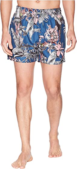Ted Baker - Elms Printed Swim Trunk