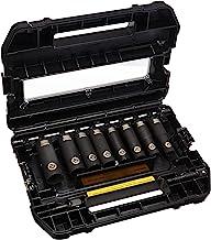 DEWALT Conjunto de soquetes de impacto, SAE, 1,27 cm, 10 peças (DW22812)