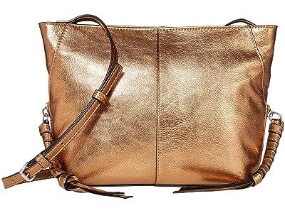 Vince Camuto Cory Crossbody (Metallic Bronze) Cross Body Handbags