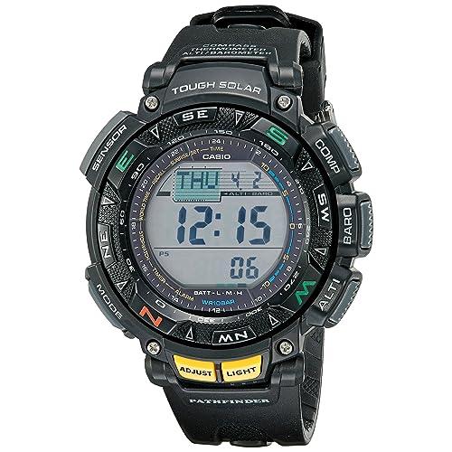 49bbf8f08c8 Casio Men's Pathfinder Triple Sensor Multi-Function Sport Watch