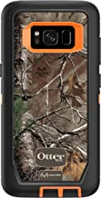 OtterBox DEFENDER SERIES SCREENLESS EDITION for Samsung Galaxy S8 - Retail Packaging - REALTREE XTRA (BLAZE ORANGE/REALTREE XTRA CAMO)