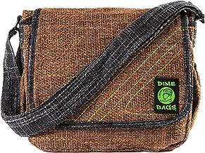 Mini Messenger - Adjustable Shoulder Bag w/Spacious Storage (Brown)