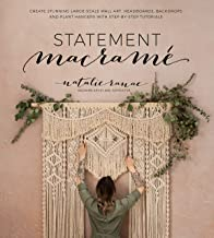 Statement Macramé: Create Stunning Large-Scale Wall Art, Headboards, Backdrops and Plant Hangers with Step-by-Step Tutorials PDF
