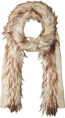 LAUREN Ralph Lauren - Coyote Trimmed Scarf with Lurex