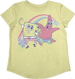 Jumping Beans Toddler Girls Spongebob Besties SS Tee