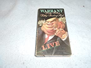 Warrant: Live - Dirty Rotten Filthy Stinking Rich VHS