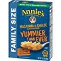 Annie's Family Size Macaroni and Cheese, Pasta & Classic Mild Cheddar Mac and Cheese, 10.5 oz Box
