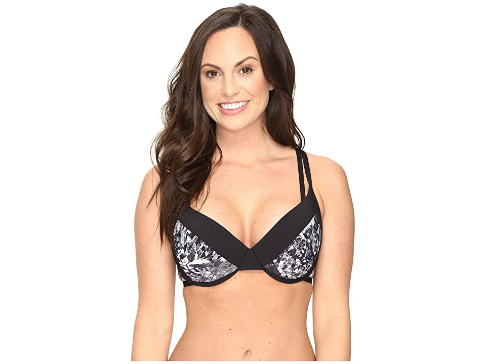 Lole Kapiti D-Cup Top (Black Monarch) Women