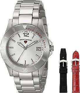 Swiss Legend Women's 16017SM-02-SET Paradiso Analog Display Swiss Quartz Silver Watch