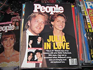 People Weekly (JULIA ROBERTS & KIEFER SUTHERLAND...