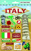 Paper House Productions Travel Italy 2D Stickers, 3-Pack