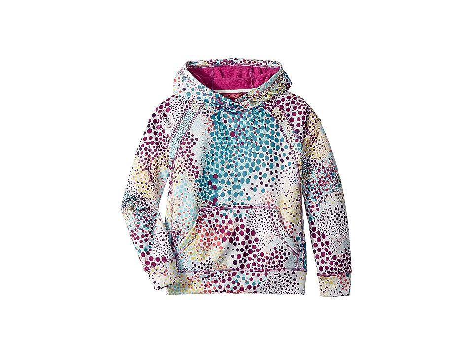 Burton Kids Girls Crown Bonded Pullover (Little Kids/Big Kids) (Stout White Dots) Girl's Clothing