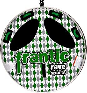 RAVE Sports Frantic Boat Towable Tube for 2 Riders