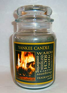 Yankee Candle 22 oz Jar Candle HEARTH for Fall - Retired Scent