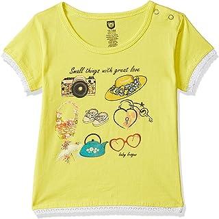 612 League Baby Girl's Plain Regular fit T-Shirt