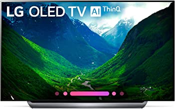LG Electronics OLED77C8PUA 77-Inch 4K Ultra HD Smart OLED TV (2018 Model)
