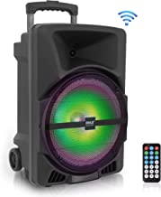 Wireless Portable PA Speaker System -1200W High Powered Bluetooth Compatible Indoor and..