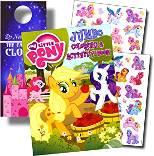 My Little Pony Coloring Book and Stickers Super Set Bundle My Little Pony Coloring Book with My Little Pony Stickers and 2...