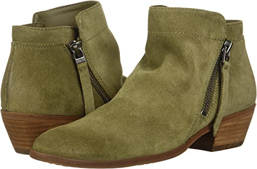 Moss Green Velutto Suede Leather