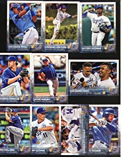 2015 Topps Series 1 Kansas City Royals Baseball Card Team Set - 10 Cards