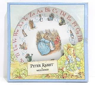 Wedgwood Peter Rabbit Alphabet Plate
