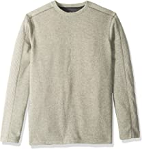 Van Heusen Men's Big and Tall Flex Long Sleeve Colorblock Crewneck Pullover Sweater