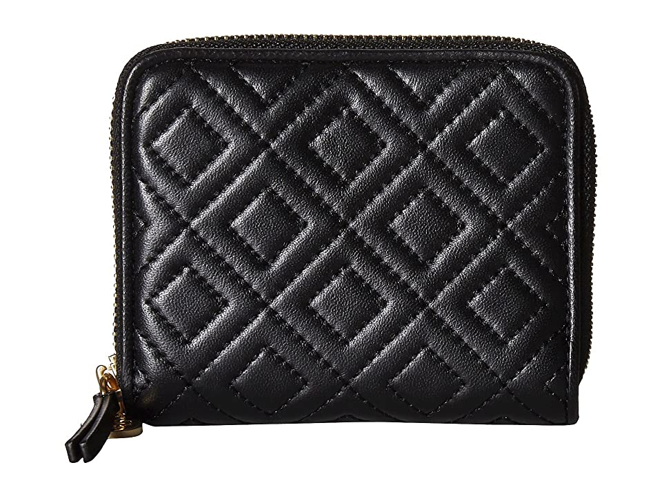 2b942f7cfe70 190041779727. Tory Burch Fleming Medium Wallet (Black) Wallet Handbags