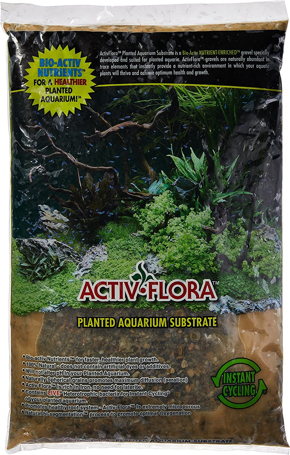 Spring new work one after another Activ-Flora Lake Gems 20-Pound for Excellent Aquarium