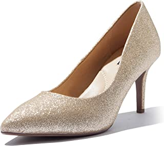 Women's high Heels Cushioned Office Pointy Toe Stiletto Pumps Shoes