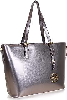 Vanessa & Melissa Damen Shopper Handtasche, praktische Allrounder Tasche, groß für Schule oder Alltag, mit extra Schulterr...