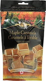 LB Maple Treat Caramel Sugar Candy / Canadian Maple Syrup Caramel Candies 200 Grams 7 Ounce