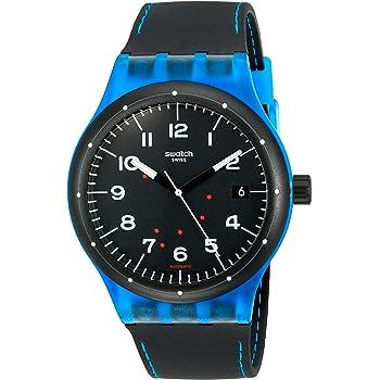 Swatch Unisex SUTS402 Originals Analog Display Swiss Automatic Black Watch