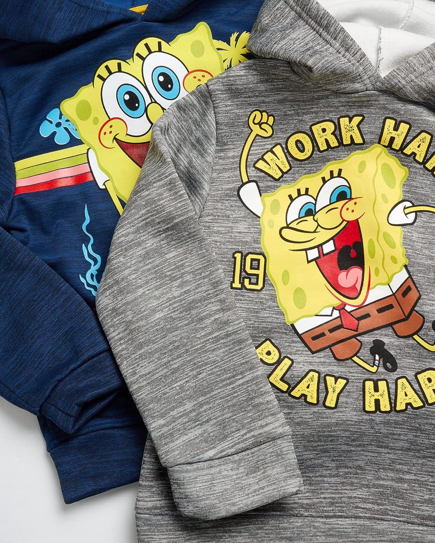 Nickelodeon Boy's Hoodie Sweatshirt - Baby Shark, Paw Patrol, SpongeBob, Thomas