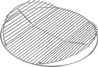 LANDMANN Rundgrillrost verchromt Durchmesser 55 cm | Aufklappbar, um die Grillkohle und Briketts problemlos nachzulegen, passend für LANDMANN Holzkohlerundgrills mit Durchmesser 55 cm verchromt