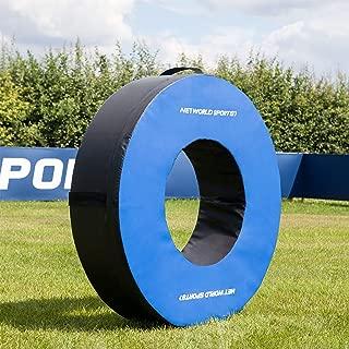 Net World Sports Football Tackle Ring - Pro Model - Weatherproof PVC - 3 Sizes