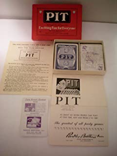 Vintage Card Game -- Pit -- Bull and Bear Edition -- 1919 -- Complete as Shown