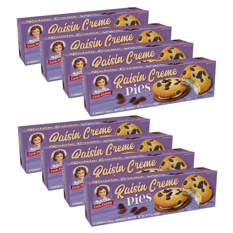 New Shipping Free Shipping Little Debbie Raisin Crème Pies 10.15 Limited price Per Pe oz Box Count 8