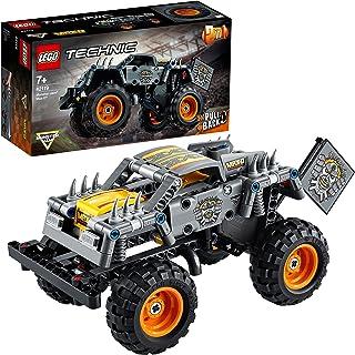 LEGO Technic 42119 Monster Jam Max-D — model do zbudowania dla chłopców i dziewczynek uwielbiających monster trucki (230 e...