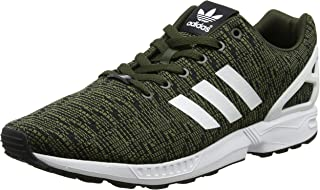 adidas Originals Women's Zx Flux Training Shoes Green in Size US 7