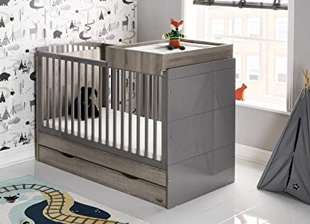 Obaby Madrid Cot Bed and Multi Top Changer Eclipse