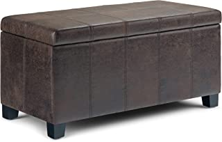 Best 36 leather ottoman Reviews