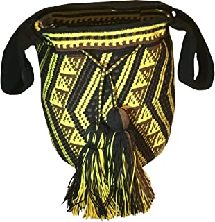 Auténtica mochila wayúu, hecha a mano en ...