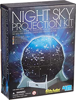 4M Fun Science Kidz Labs / Create A Night Sky Projection Kit Educational Toys
